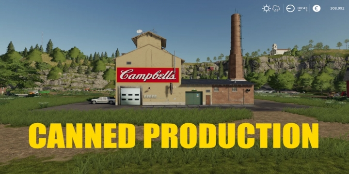 FS19 - Canned Factory V1.1