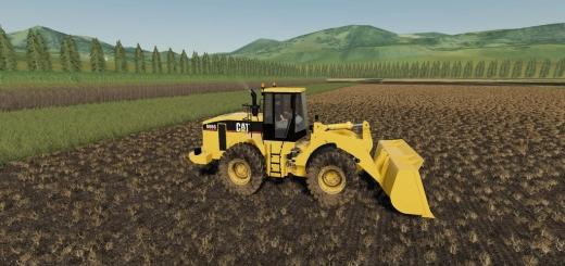 Photo of FS19 – Caterpillar 966G Loader V1.0