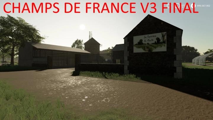 FS19 - Champs De France V3.0 Final