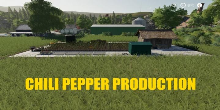 FS19 - Chilipepper Factory V1.1
