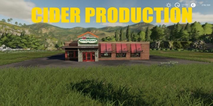FS19 - Cider Production V1.1