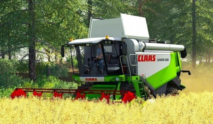 FS19 - Claas Lexion 530 Htp V1.0.1.0