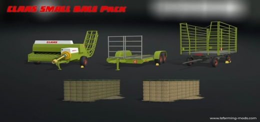 Photo of FS19 – Claas Small Bale Pack V1.0
