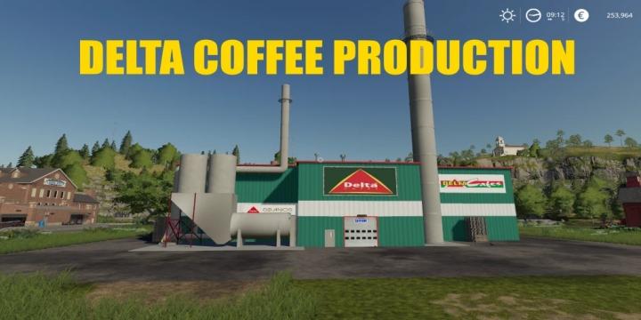 FS19 - Coffee Factory V1.1