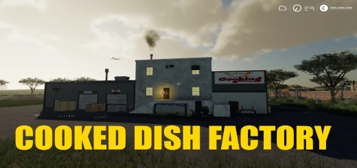 Photo of FS19 – Cooked Dish Factory V1.0