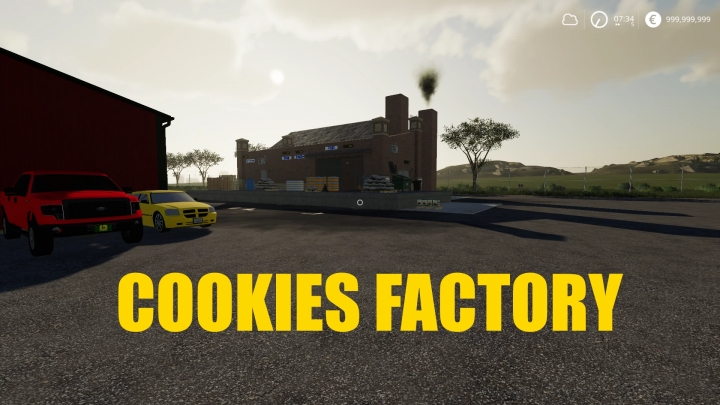 FS19 - Cookies Factory V1.0.0.6