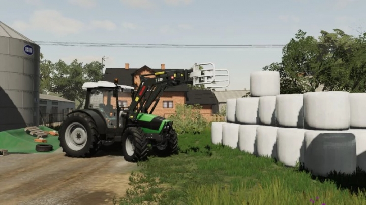 FS19 - Deutz Fahr Agrofarm V1.0