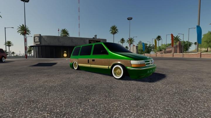 FS19 - Dodge Caravan 1991 V1.0