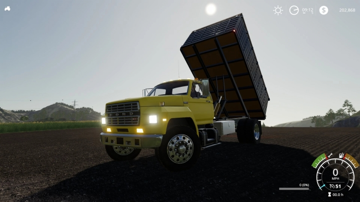 FS19 - F800 Grain Truck V1.0
