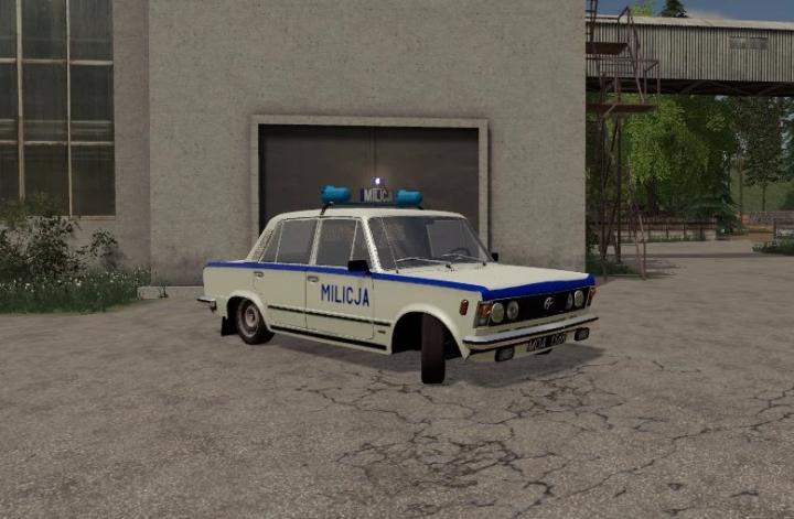 FS19 - Fiat 125P Milicja V1.0