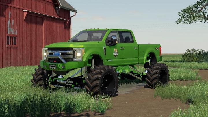 FS19 - Ford F-250 Superduty Monster Truck V1.0