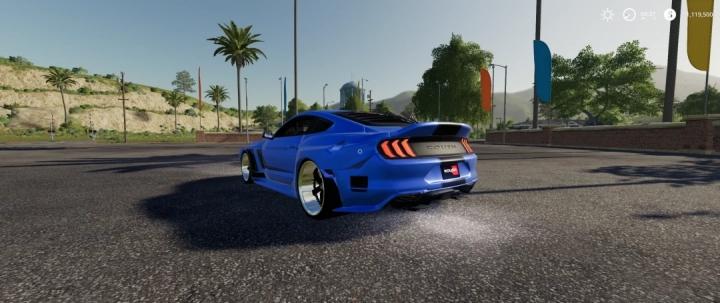 FS19 - Ford Mustang Rousch Wide Body V1.0
