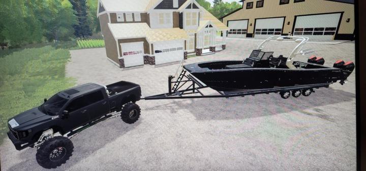 FS19 - Freeman Boat V1.0