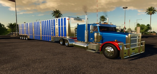 Photo of FS19 – Freightliner Classic Fld 120 Flat Top V1.0
