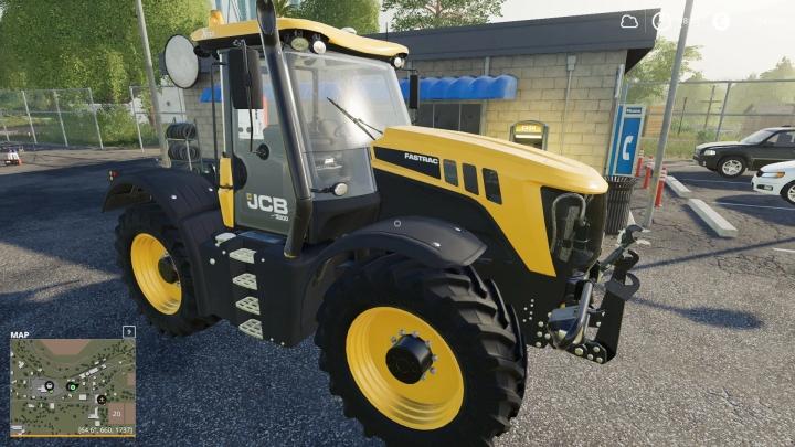 FS19 - Jcb Fastract 3000 V1.0