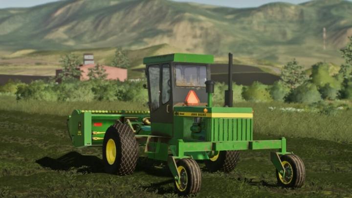 FS19 - John Deere Windrower V1.2