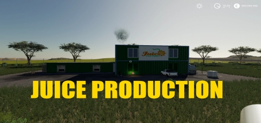 Photo of FS19 – Juice Factory V1.1