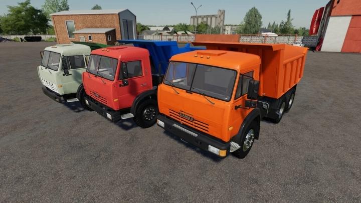 FS19 - Kamaz Dump Truck V1.0