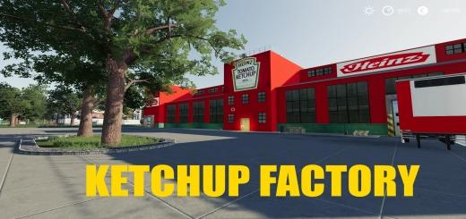 Photo of FS19 – Ketchup Factory V1.0.0.6