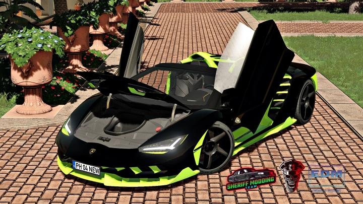 FS19 - Lamborghini Centenario Roadster V1.0