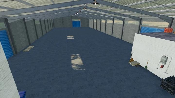 FS19 - Large Vehicle Hall V1.0