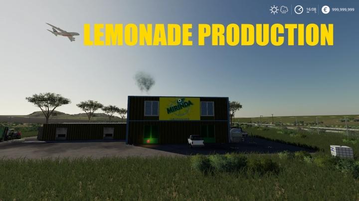 FS19 - Lemonade Factory V1.1