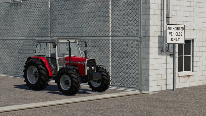 FS19 - Massey Ferguson 265 V1.0