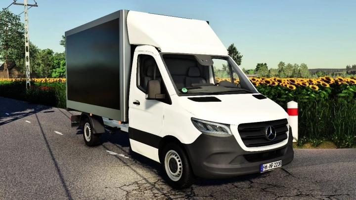 FS19 - Mercedes-Benz Sprinter Mk3 Box V1.0