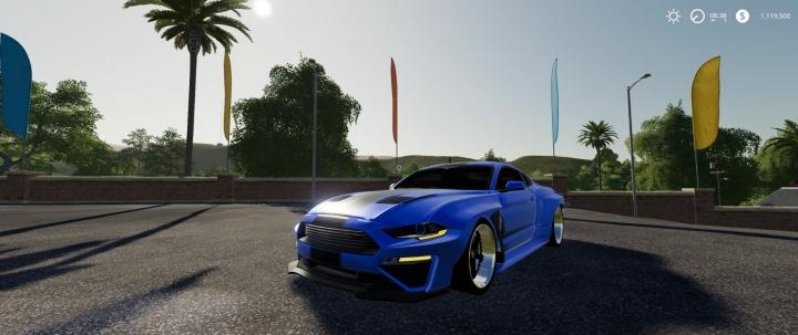 FS19 - Mustang Rousch Wide Body V1.1