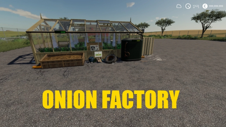 FS19 - Onion Factory V1.0