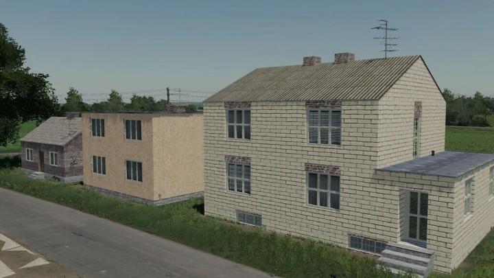 FS19 - Pack Of Three Houses V1.1