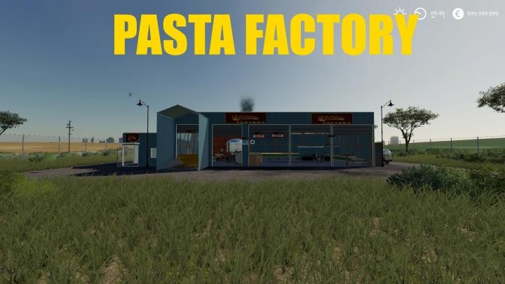 FS19 - Pasta Factory V1.0