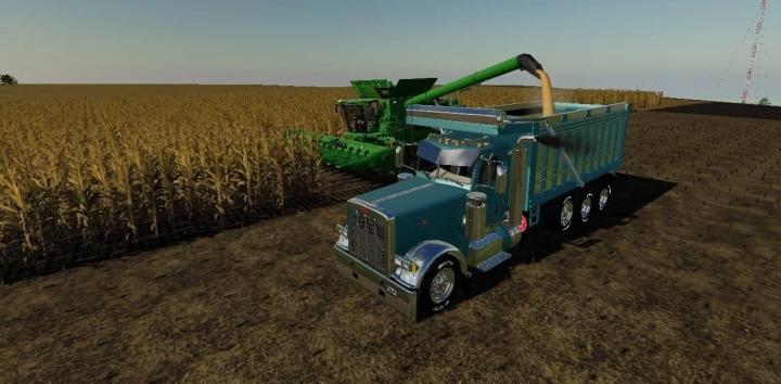 FS19 - Peterbilt 379 Dump Truck V1.0.0.2