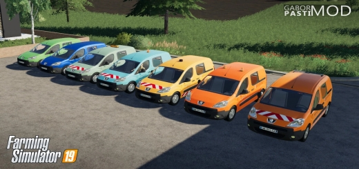 Photo of FS19 – Peugeot Partner 2009 V1.0