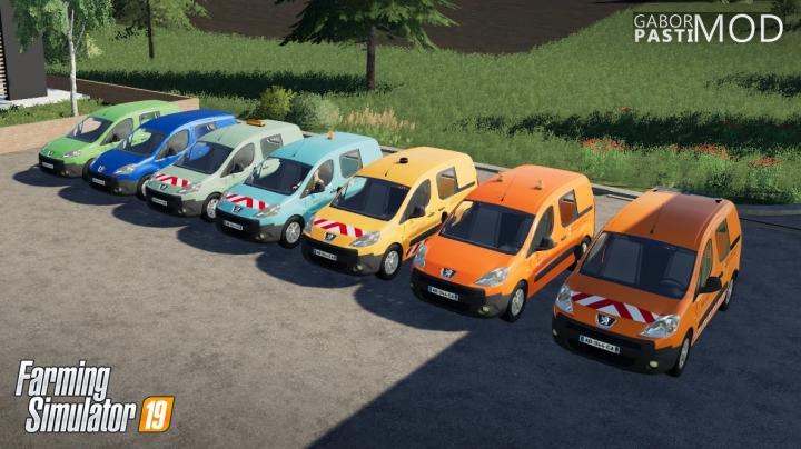FS19 - Peugeot Partner 2009 V1.0