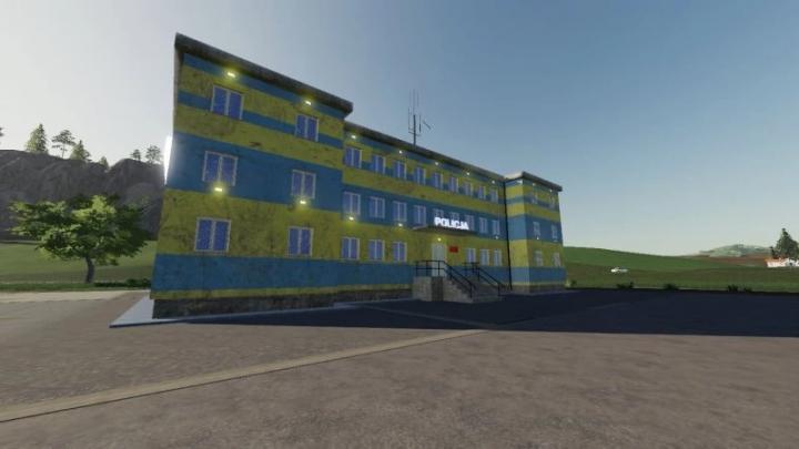 FS19 - Police Station V1.0