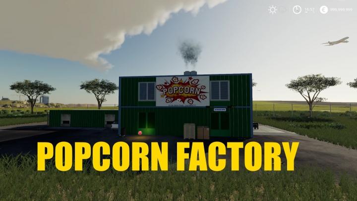 FS19 - Popcorn Factory V1.1