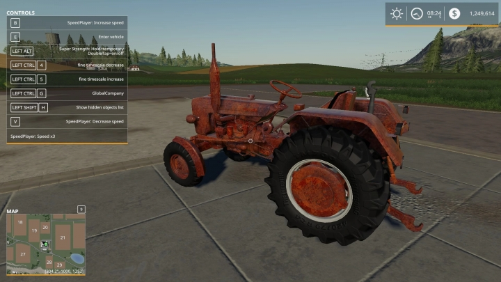 FS19 - Rusted Old Tractor V1.0