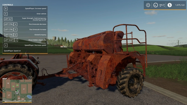FS19 - Rusted Seed Drill V1.0