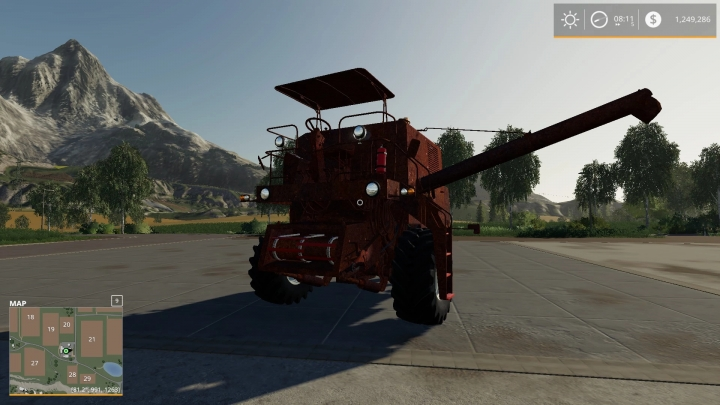 FS19 - Rusty Old Combine V1.0.0.1