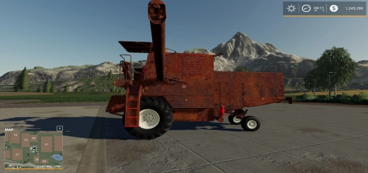 Photo of FS19 – Rusty Old Combine V1.0