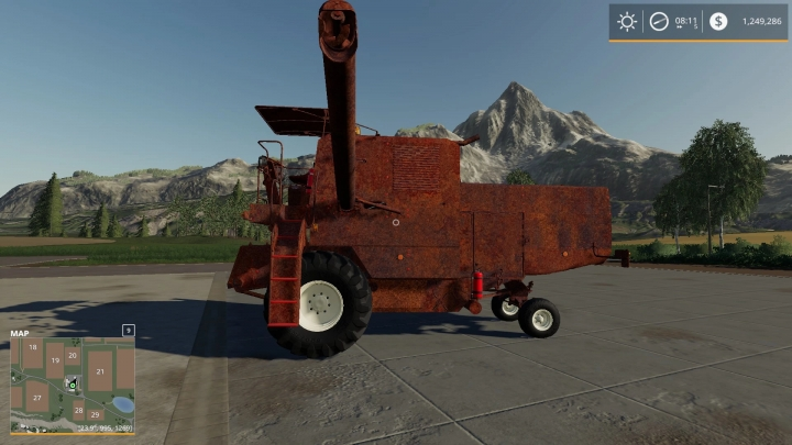 FS19 - Rusty Old Combine V1.0