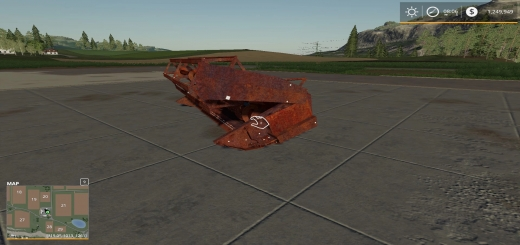 Photo of FS19 – Rusty Old Header V1.0