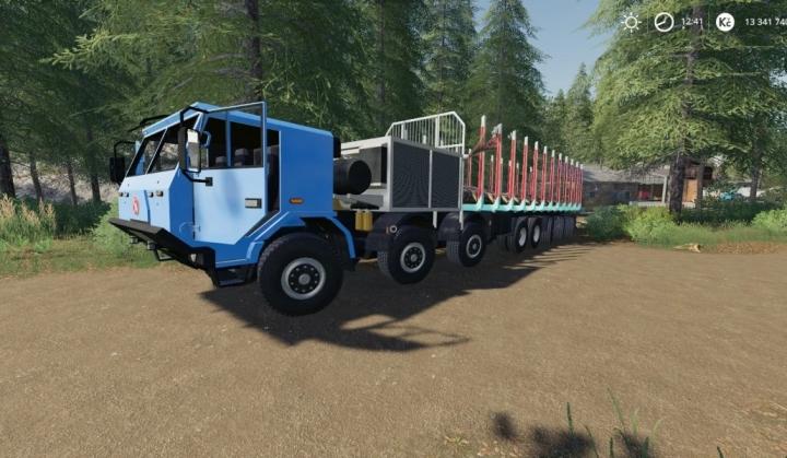 FS19 - Tatra 16X16 Les V2.0