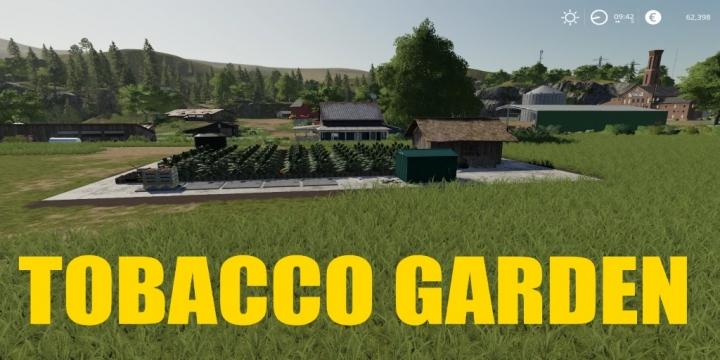 FS19 - Tobacoo Factory V1.1