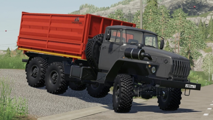 FS19 - Ural 5557/4320-60 Farmer V1.0.2.1