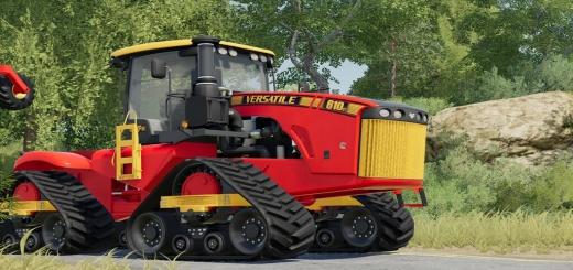 Photo of FS19 – Versatile 4Wd Tractors V1.0