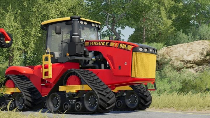 FS19 - Versatile 4Wd Tractors V1.0