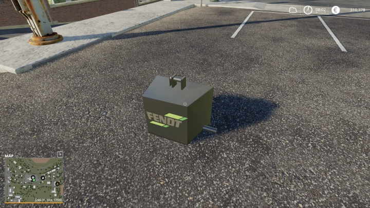 FS19 - Weight Front V1.0