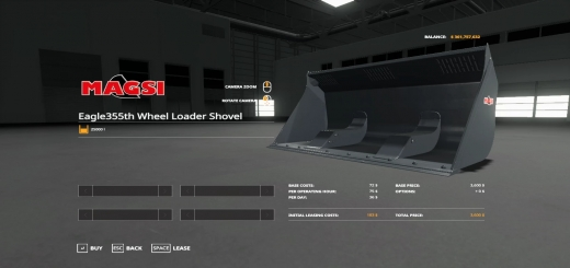Photo of FS19 – Wheel Loader Shovel V1.0